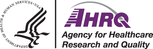 HHS and AHRQ Logo